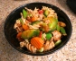 GF Vegan Option Pasta Primavera with Ground Chicken (dairy-free, egg-free)